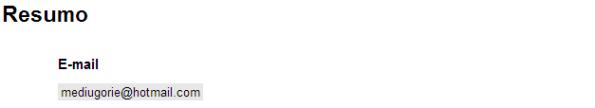 google docs - questão do tipo texto - resumo
