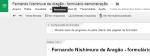 google drive trocando o nome do formulário